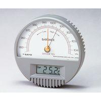 佐藤計量器製作所 バロメックス気圧計7612 校正書類付 62-0850-55 1式 (直送品)
