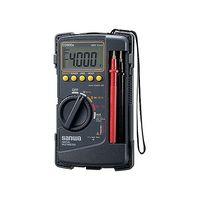 三和電気計器 デジタルマルチメーター ケース一体型 CD800a 校正書類3点(新品校正) 1式 62-0854-57 (直送品)