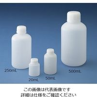 ニッコー 細口 丸型規格瓶 3L 10-2710-55 1本(1個) (直送品)