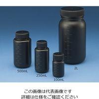 ニッコー・ハンセン Jボトル丸型 広口 遮光 100ml 15-3012-55 1本(1個)(直送品)