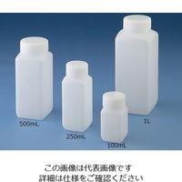 ニッコー Jボトル角型 広口 250ml 15-5002-55 1本(1個) (直送品)
