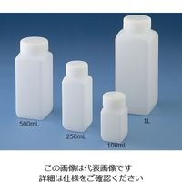 ニッコー Jボトル角型 広口 500ml 15-5003-55 1本(1個) (直送品)