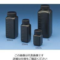 ニッコー Jボトル角型 広口 遮光 500ml 15-7003-55 1本(1個) (直送品)