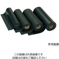 光(ヒカリ) ゴムシート (ロール状) 幅100mm 厚み1mm GR1-1001 1巻 3-7967-01 (直送品)