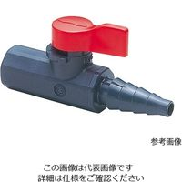 旭有機材工業 ラブコック 1/4めねじxホース VLCLVUVJN4H0 1個 3-8158-05 (直送品)