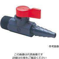 旭有機材工業 ラブコック 1/4おねじxホース VLCLVUVJO4H0 1個 3-8158-07 (直送品)