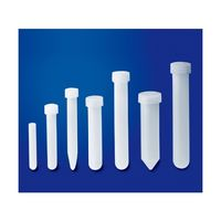サビレックス(Savillex) 試験管 32mL 内底U型 上面凹状蓋 211-032-20-024-71 1個 61-8490-56 (直送品)