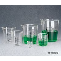 ビーカー PMP 250mL 1203-0250 62-1609-87(直送品)