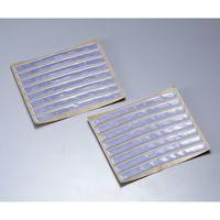 旭電機化成 光るホイール反射シール シルバー ASK-10SI 1個 61-7349-74 (直送品)