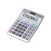 カシオ計算機(CASIO) カシオ 本格実務検算タイプ電卓 ジャストタイプ 12桁 DS-20WK-N 1個 62-1061-87 (直送品)