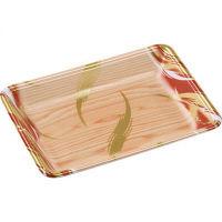 エフピコ FLB-Y18-33 風紋木目OR 4B842189 1箱(900枚:100枚×9袋)(取寄品)