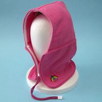 おぢや元気プロジェクト 防災頭巾 おまもり頭巾ちゃんフリーサイズ 携帯用 ピンク 36050001(直送品)