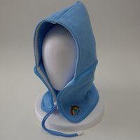 おぢや元気プロジェクト 防災頭巾 おまもり頭巾ちゃんフリーサイズ 携帯用 スカイブルー 36050003(直送品)