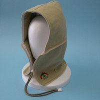 おぢや元気プロジェクト 防災頭巾 おまもり頭巾ちゃんフリーサイズ 携帯用 サンドベージュ 36050004(直送品)