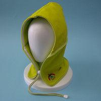 おぢや元気プロジェクト 防災頭巾 おまもり頭巾ちゃんフリーサイズ 携帯用 レタスグリーン 36050005(直送品)