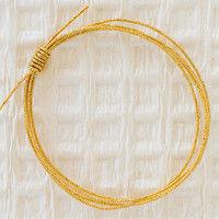 ヘッズ ロング水引:金 MHL-144 1セット(500本:50本×10パック)(直送品)