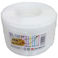 小巻PPバンド15mm×100m 白 (標準色) PPBAND15-100-WH 1セット(10巻) 信越工業(直送品)