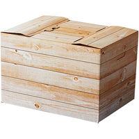 パックタケヤマ インテリアボックス 白木 XZV33002 1包:5個×4(直送品)