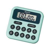 リズム時計(Rhythm Watch) タイマーBS 緑 TT010DA05 1個 61-5077-90 (直送品)