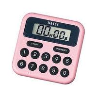 リズム時計(Rhythm Watch) タイマーBS ピンク TT010DA13 1個 61-5077-91 (直送品)