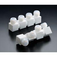 フロンケミカル フッ素樹脂 フレキシブル多連ホルダー NR1656-015 1個 61-9942-26 (直送品)
