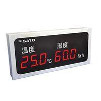 佐藤計量器製作所 温湿度表示器 SK-M460-TRH 1セット 61-0097-10 (直送品)