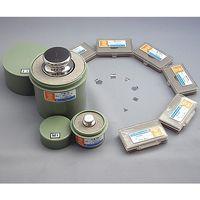 村上衡器製作所 標準分銅 M1級 2kg JCSS校正付 61-3512-11 1セット (直送品)