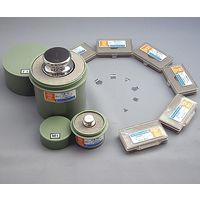 村上衡器製作所 標準分銅 M2級 500g JCSS校正付 1セット 61-3512-53(直送品)