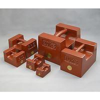 村上衡器製作所 鋳鉄製まくら型分銅 M1級 1000kg 1個 61-3513-96(直送品)