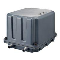 テクノ高槻 小型エアーポンプ 吸排両用型 KP-4020S 1個 61-9695-31 (直送品)