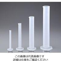 ニッコー PPメスシリンダー 500mL 30-0302-55 1個 (直送品)