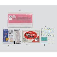 ゼニス 帰宅困難者対策セット 5品目 200セット入り JKP-500 1箱(200セット) 3-4644-01(直送品)