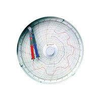 江部松商事(EBEMATSU) 温湿度記録計「温湿きろく君」8日/1回転 アイスホワイト KC10-WW 5525900 61-6588-57 (直送品)