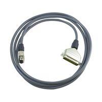 RS-232Cケーブル 2m (D-Sub25PオスーD-Sub9Pメス) AX-KO1710-200 62-3789-72 (直送品)