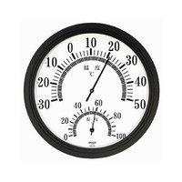 CRECER(クレセル) 温度計・湿度計 CR-151W 1個 62-3966-26 (直送品)