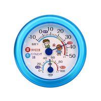 CRECER(クレセル) 温湿度計 熱中症・インフル TR-103B 1個 62-3966-39 (直送品)