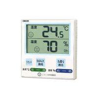 CRECER(クレセル) デジタル温湿度計 青 CR-1100B 1個 62-3966-40 (直送品)