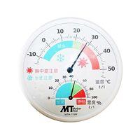 マザーツール(Mother Tool) アナログ熱中症・かぜ注意計 MTH-115W 1個 62-4051-94 (直送品)