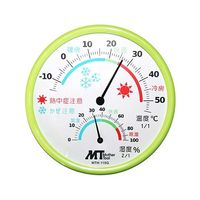 マザーツール(Mother Tool) アナログ熱中症・かぜ注意計 MTH-115G 1個 62-4051-95 (直送品)