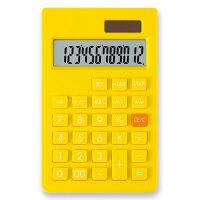 アスカ カラーポケット電卓 イエロー 黄 C1237Y 1個