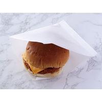 大阪ポリヱチレン販売 無地ラミバーガー 5689 1包:500枚×6(直送品)