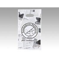 大阪ポリヱチレン販売 No.25 ヨーロピアン丸抜手提袋(小) 6335 1包:100枚×10(直送品)