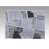 大阪ポリヱチレン販売 ヨーロピアン縦型サンド(A)ブラック 6573 1包:100枚×10(直送品)