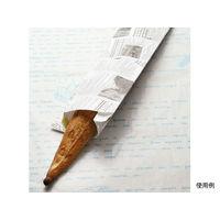大阪ポリヱチレン販売 フランスパン紙袋ヨーロピアン柄(白)No.178(特小) 6592 1包:50枚×20(直送品)
