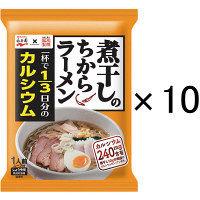 藤原製麺 煮干しのちからラーメン しょうゆ味 1人前 107.5g