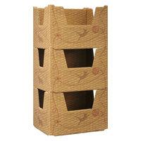 つながる おかたづけボックス 3個パック積重ね可能 A4サイズ対応 40100 1パック プラス