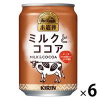 キリンビバレッジ 小岩井 ミルクとココア 280g×6缶