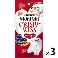 MonPetit(モンプチ) 猫用 クリスピーキッス ターキー&チキンセレクト 30g 3袋 ネスレ日本
