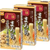 東洋水産 鍋用マルちゃん正麺 まろ旨 豆乳ごま味噌味 290g 8個