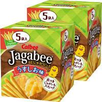 カルビー Jagabeeうすしお味 80g 1セット(2個)